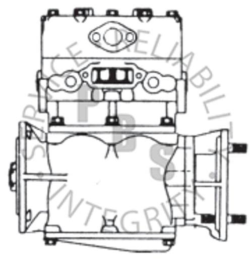 280238X, TF-600, Cummins Compressor