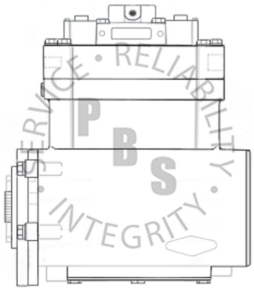 3048677X, ST676, Cummins / Holset Compressor, NT