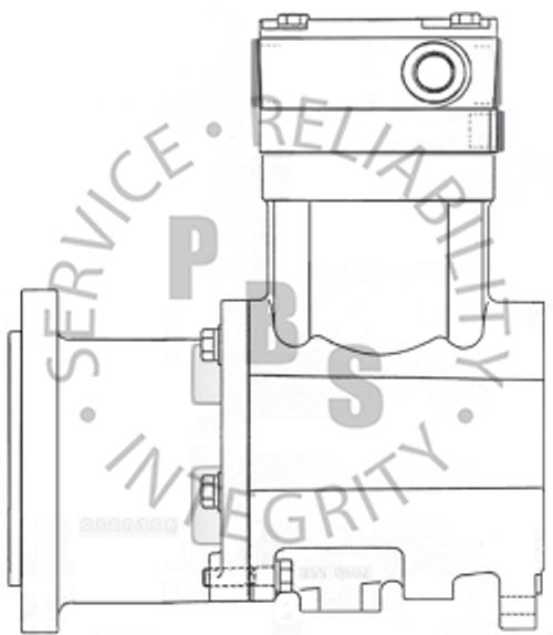 3558144X, QE296, Cummins / Holset Compressor, Mack, E Tech **Call for availability and pricing**