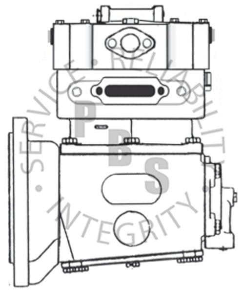 KN12101X, EL1200, Midland / Haldex Compressor, Detroit