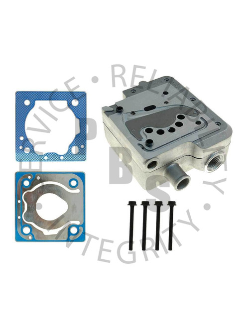9111539202G, Wabco, Compressor Head, Cummins, B, C, ISM, SS318, 85MM