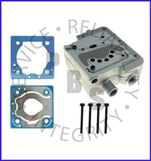 9111539212G, Wabco, Compressor Head, Cummins, ISX, SS318, 85MM