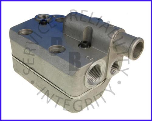 9111549202G, Wabco, Compressor Head, Cummins, B Series, 75MM