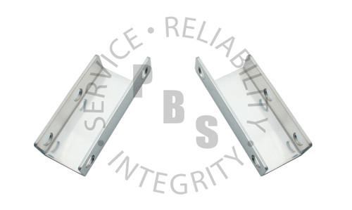 PBB7004BSS, Bracket, GM, 1955-1958, Universal Straight, Stainless Steel