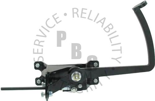 PRAUM, Bracket, Universal Frame Mount Manual Brake Pedal