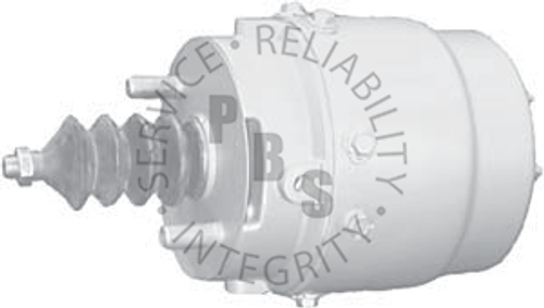 "281667X, Spring Brake, Type 50, Roto Safety Actuator  9-7/16"" Diameter"