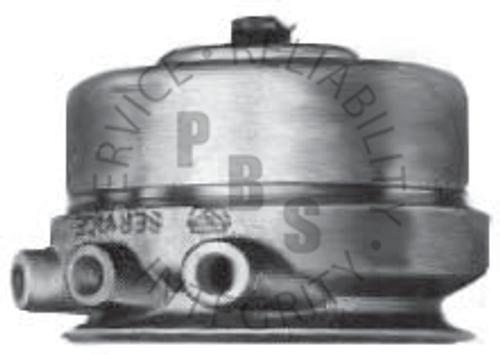 "S12RWX, Spring Brake, Rockwell, Wedge  1/4"" Ports"