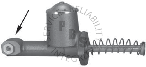 """C3496, Master Cylinder  5/16"""" Inverted Flair Port  Casting # 300358  GM Application"""