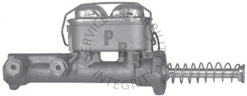 """C3500SF, Master Cylinder  1/4"""" and 5/16"""" Inverted Flair Ports  Casting # 300406F"""