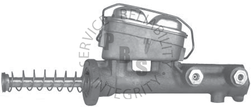 """C3502, Master Cylinder  5/16"""" and 1/4"""" Inverted Flair Ports  Casting # 300407C"""