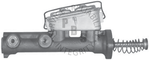 """C3510, Master Cylinder  5/16"""" and 1/4"""" Inverted Flair Ports  Casting # 300406F"""