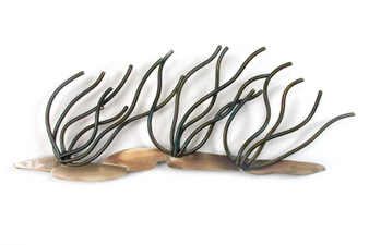 Soft Coral Branches Large Metal Wall Sculpture CO136