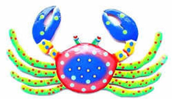 Funky Crab Artwork