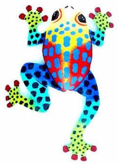 Haitian Art, Climbing Frog Large