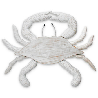 Large Wall Crab - Hand Carved Wood Wall Sculpture