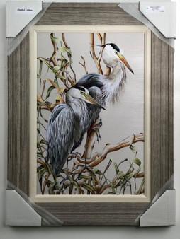 "Heron Painting FD41890 32"" x 24"""