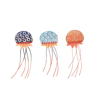 Jelly Fish Set of 3 Wall Art C485