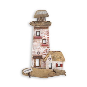 LIGHTHOUSE BEACH JUNK WALL ART C471