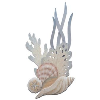 Shell Reef Tulip Vertical Wall Art CW469