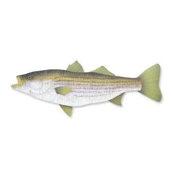 Striped Bass Wooden Wall Art Fish C754