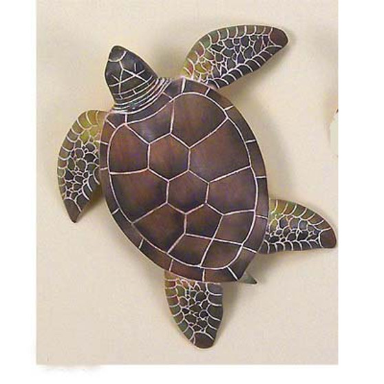 Hand Carved Sea Turtle Wall or Table