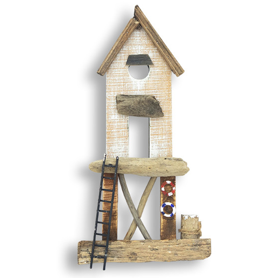Beach House on Stilts Wall Art C473