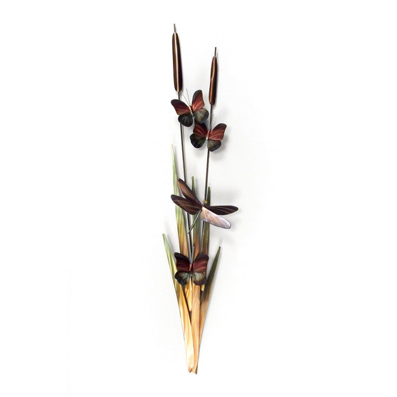 Cattails Indoor/Outdoor Wall Art XIO102R