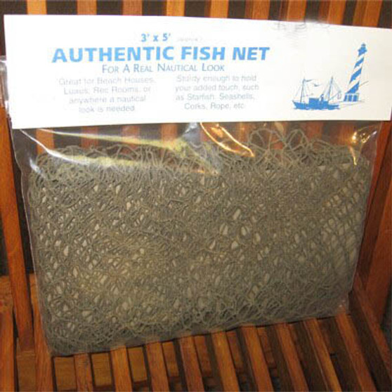 Real Fish Netting in a Bag