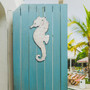 Metal Wall Seahorse in Rustic Finish CA041