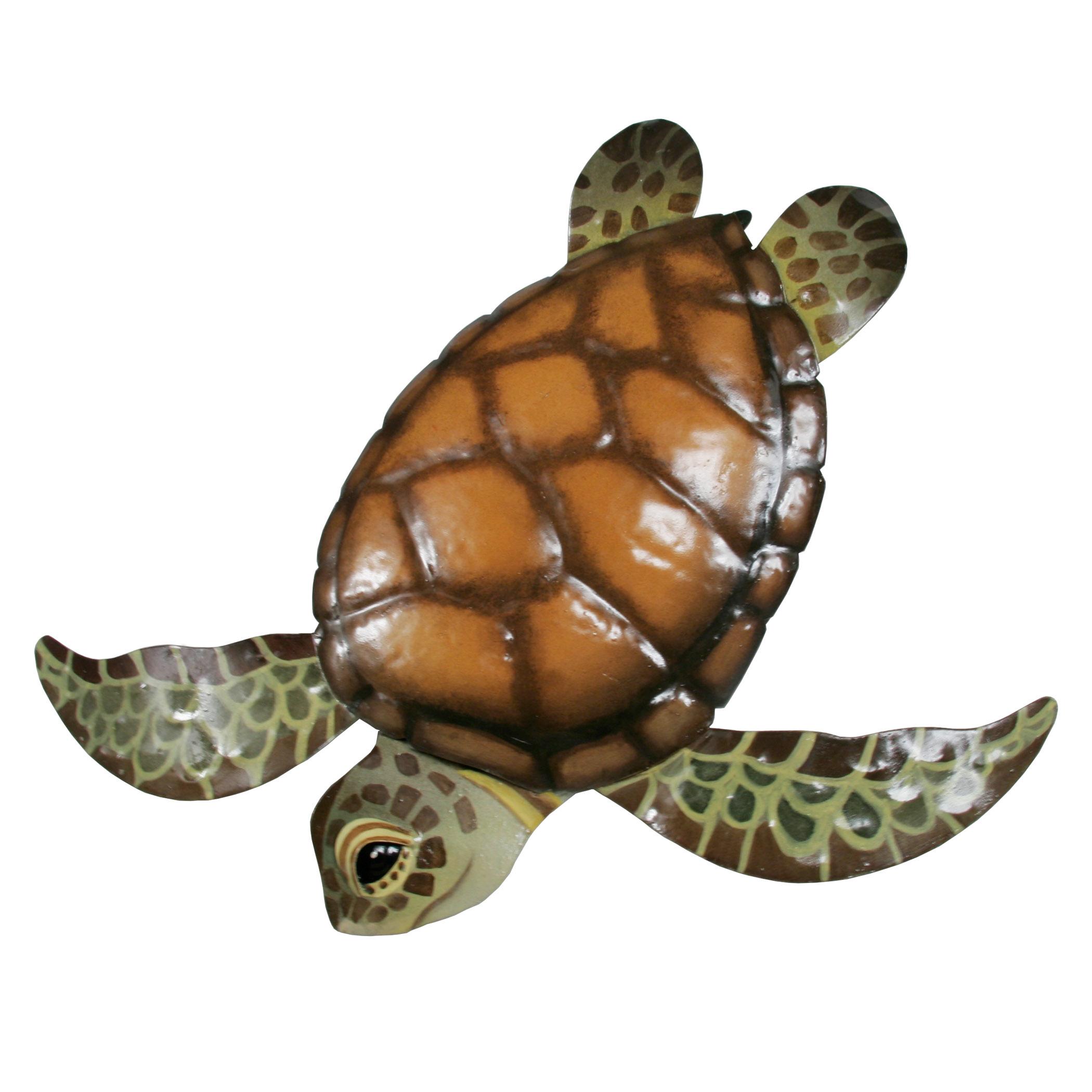 - Sea Turtle Metal Wall Art