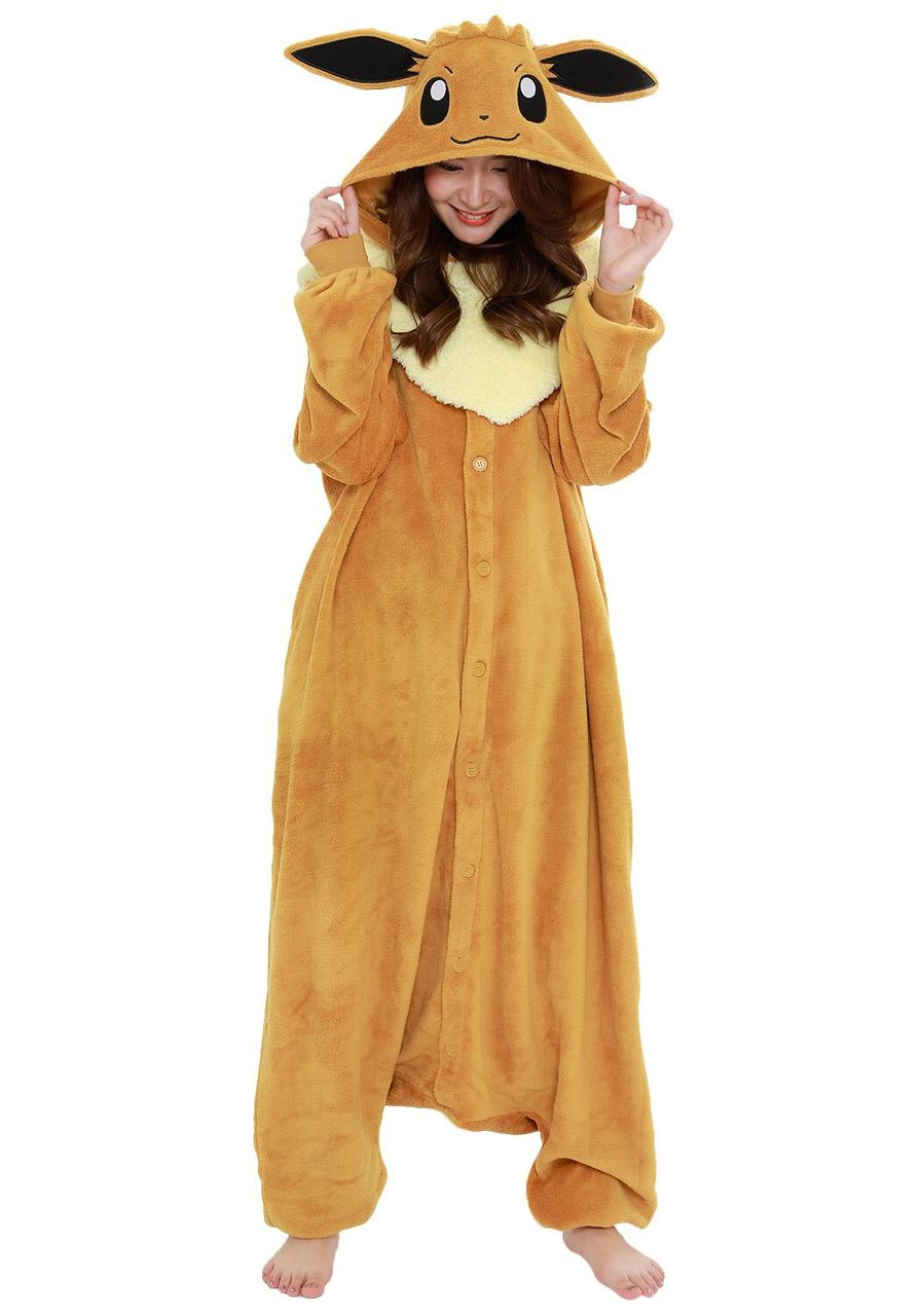 Kigurumi Shop Eevee Pokemon Kigurumi Animal Onesies