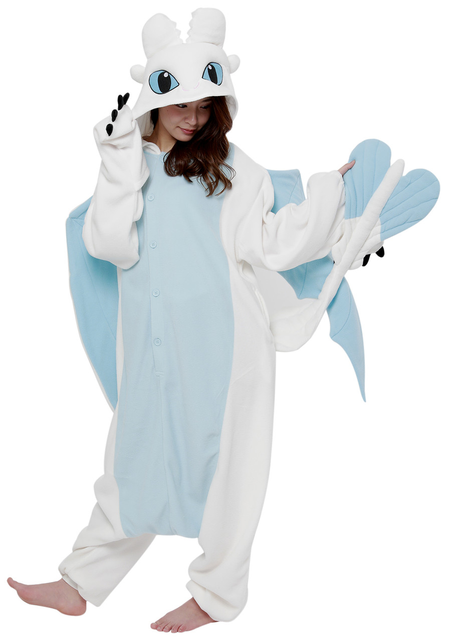 Kigurumi Shop Light Fury Kigurumi Animal Onesies