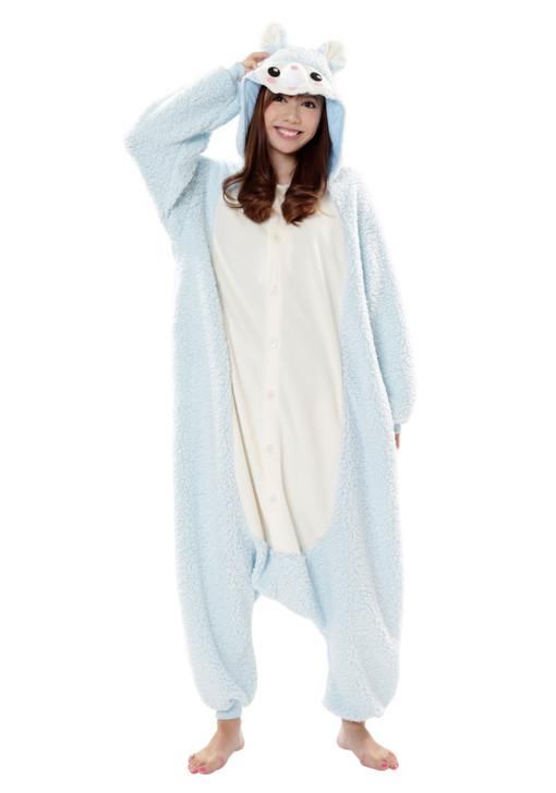 Blue Alpaca Kigurumi