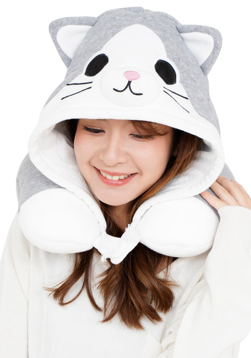 Tabby Cat Neck Support Pillow