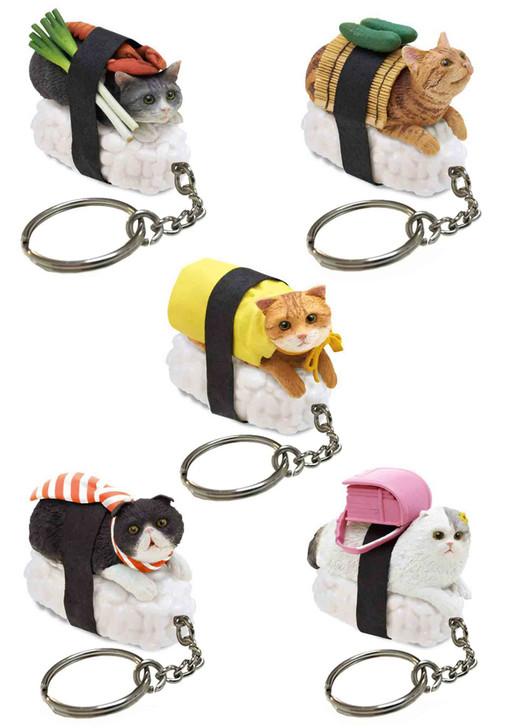 Sushi Cat (Nekozushi) Keyring Blind Box Version 1