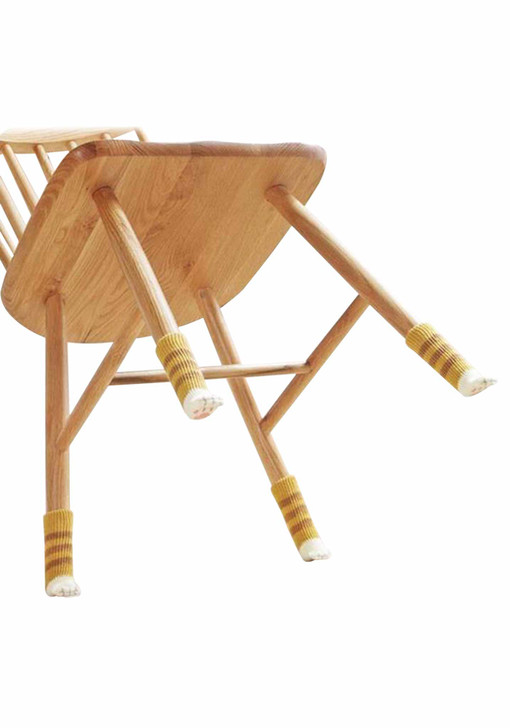 Cat Paw Chair Socks 2 Sets