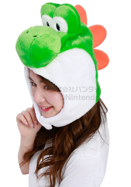 Super Mario Brothers (Yoshi) Kigurumi Cap