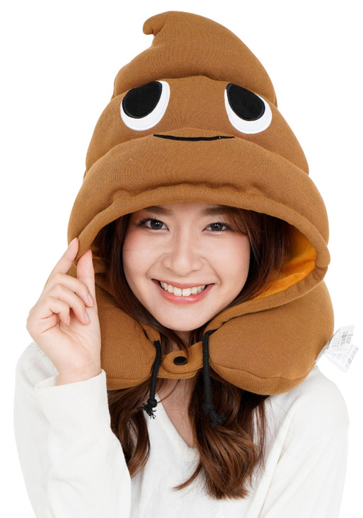 Poop Neck Support Pillow
