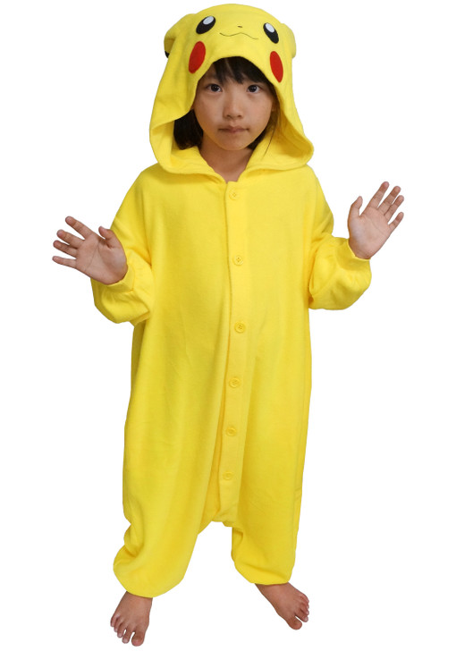 Pikachu Kids Pokemon Kigurumi