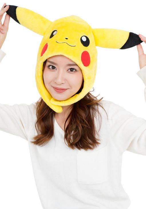 Pikachu Pokemon Kigurumi Cap
