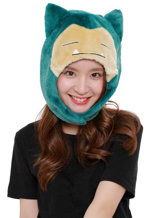 Snorlax Pokemon Kigurumi Cap