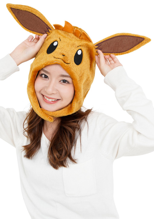 Eevee Pokemon Kigurumi Cap