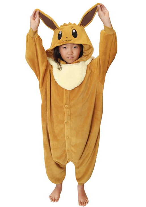 Eevee Kids Pokemon Kigurumi