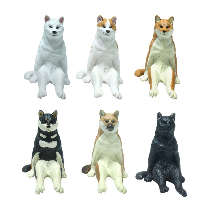 Sitting Dog Blind Box 1 of 6 Collectible Figurines