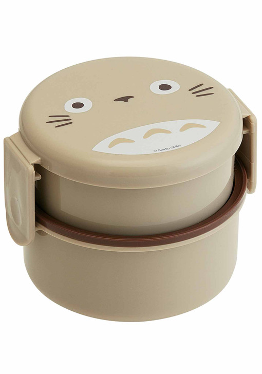 My Neighbor Totoro: Round Bento Lunch Box (16.91oz) 500ml