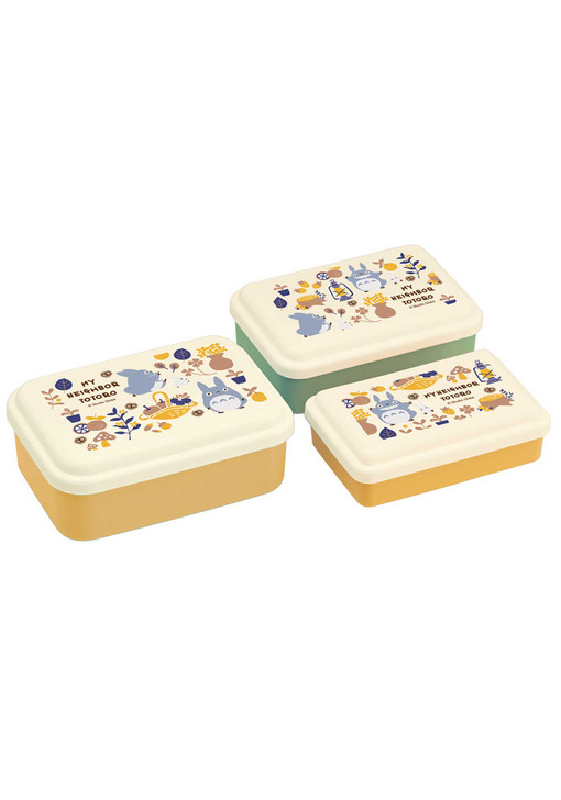 My Neighbor Totoro Food Container 3pc Set (Foraging)