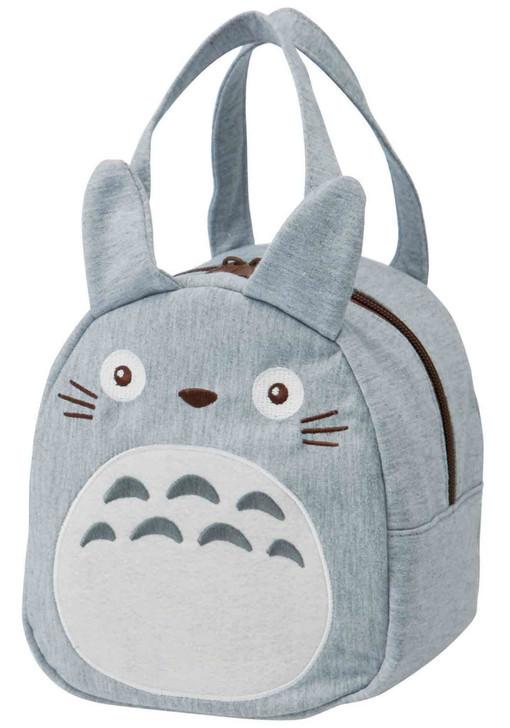 My Neighbor Totoro Die Cut Lunch Bag (Gray)