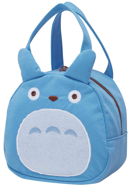 My Neighbor Totoro Die Cut Lunch Bag (Blue)