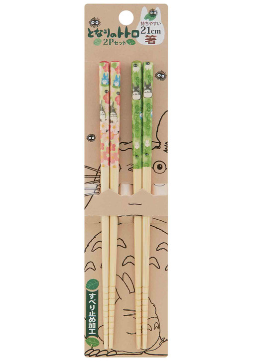 My Neighbor Totoro Bamboo Chopstick 2pc Set