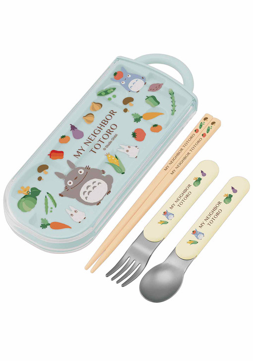 My Neighbor Totoro Utensil Set (Veggies)